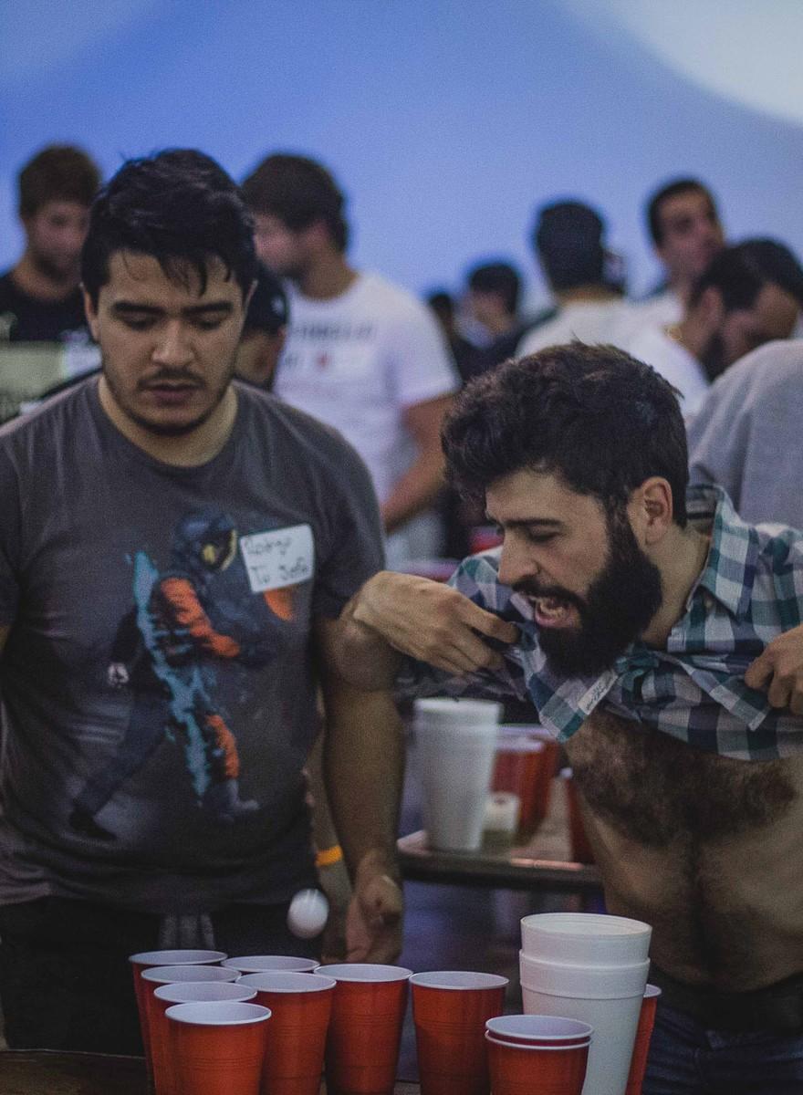 Fotos del torneo de Beer Pong más grande de la Ciudad de México