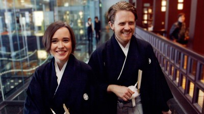Ellen Page and Ian Daniel Learn How Difficult It Is to Come Out in Japan on the First Episode of 'GAYCATION'