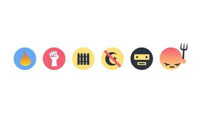 Exklusiv: Das Emoji-Reaction-Set für Wutbürger