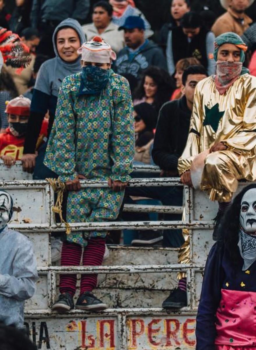Los bomberos-toreros demoníacos de México