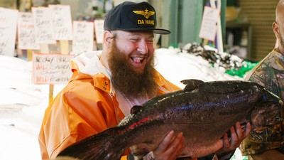 We Go Behind the Scenes of Action Bronson's New VICELAND Show on Today's 'Daily VICE'