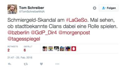 Korruption am LaGeSo: Ein Berliner Politiker verdächtigt Araber-Clans