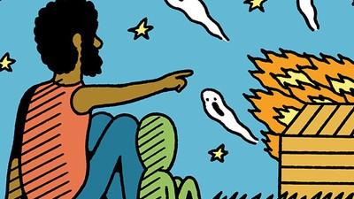 Lee Perry quema su estudio. Un cómic de Alexis Nolla