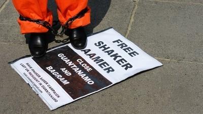 US-UK Row Reopens over 'Dangerous' Ex-Guantanamo Detainee Shaker Aamer