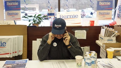 Scenes from the Last Days of Bernie Sanders' Campaign in South Carolina