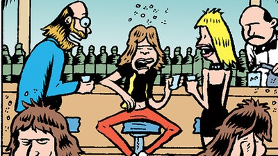 Mick Jagger Gets Punched in the Face in Today's Comic by Peter Bagge
