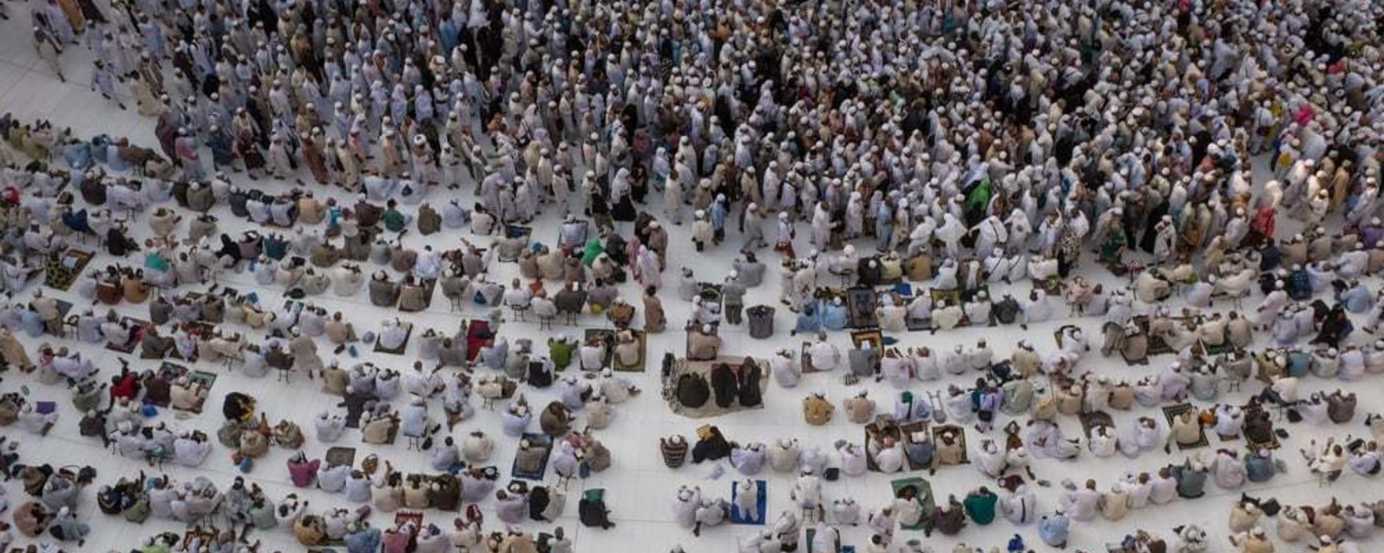 La Mecca vista dall'interno