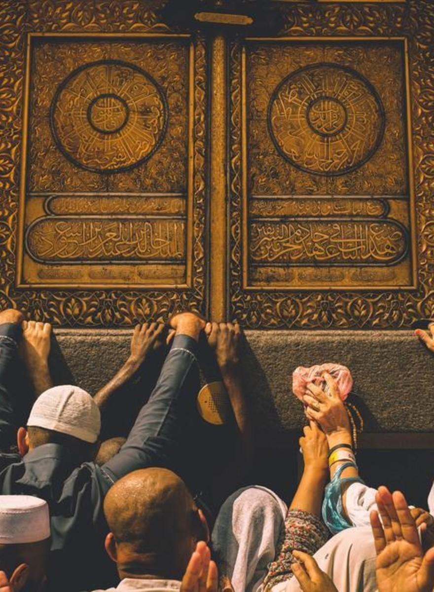 Fotos íntimas de La Meca durante la reunión del Hajj
