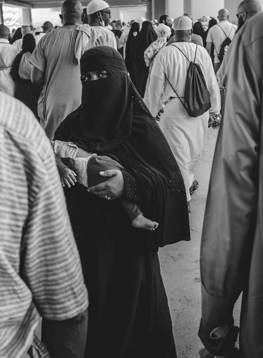 Unter zwei Millionen Muslimen in Mekka