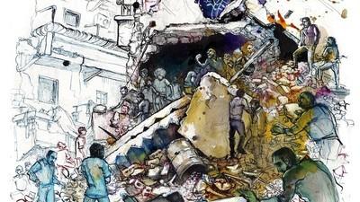 Het leven in het door oorlog verscheurde Aleppo