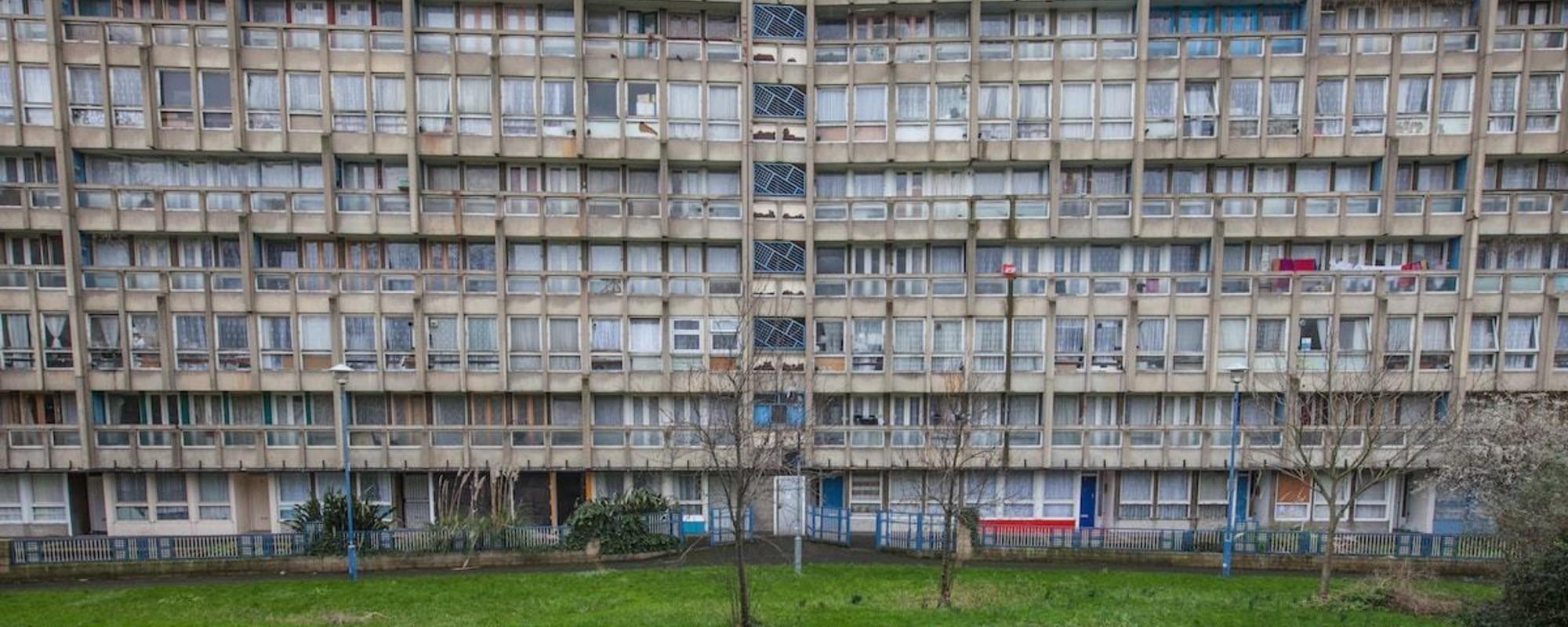 Foto delle ultime case popolari londinesi