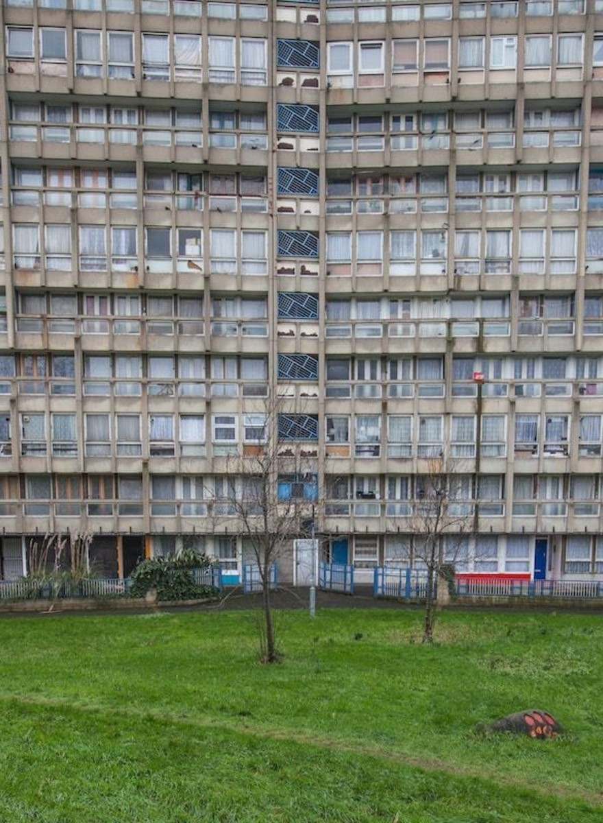 Photos of London's Threatened Public Housing