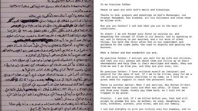 Osama bin Laden wollte, dass die Amerikaner Obama helfen, die Menschheit zu retten