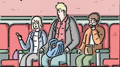 'The Comedians' Go See a Movie in Today's Comic by Luke Healy