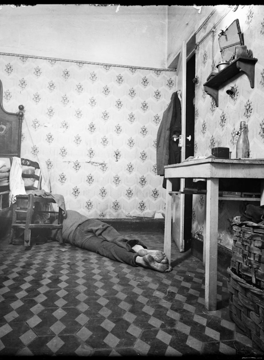 Le foto perdute delle scene del crimine italiane di inizio Novecento