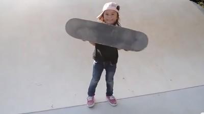 Conoce a Sky Brown, la patinadora prodigio de seis años