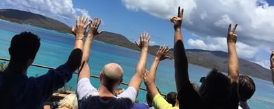 Мои мокрые и дикие биткойновые выходные в островном убежище Ричарда Брэнсона