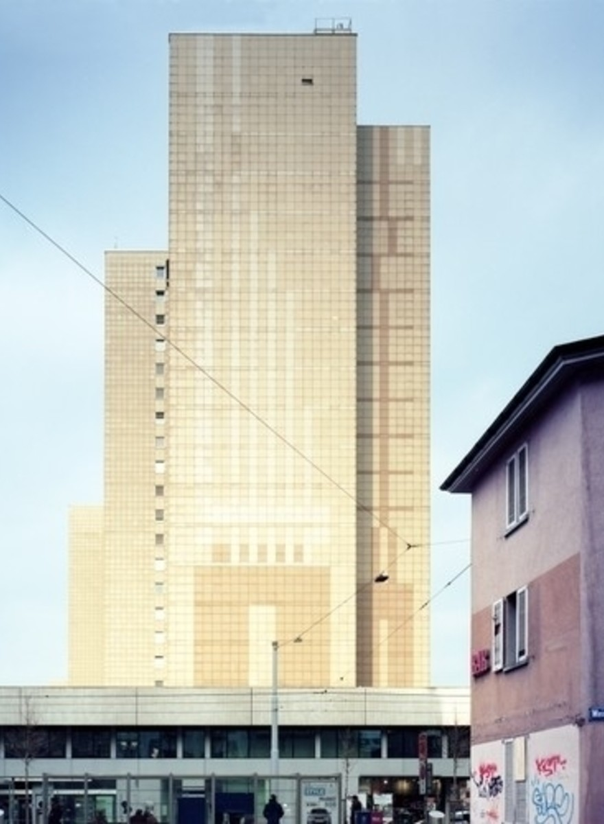 Photos from Switzerland's First High Rise