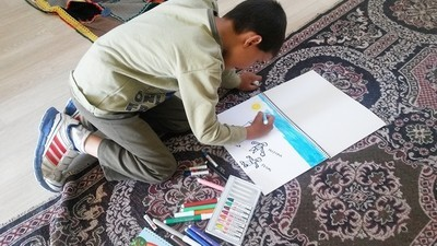 Child Refugees Draw the Refugee Crisis