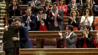 El techo de cristal femenino también está en el Parlamento español