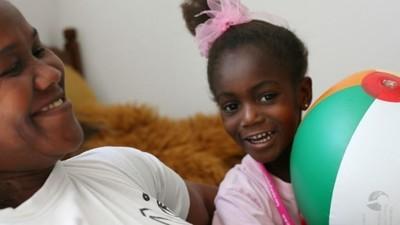Fotos de refugiados en sus nuevos hogares