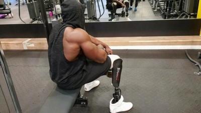 Amputé des deux jambes, Edgard John-Augustin est devenu Bionic Body