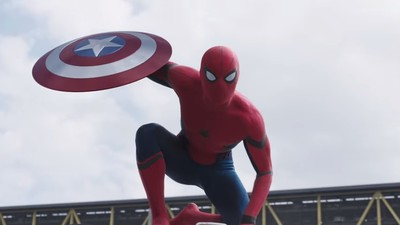 Everyone Is Freaking Out About That 'Civil War' Trailer with Spider-Man So Fine, Here It Is