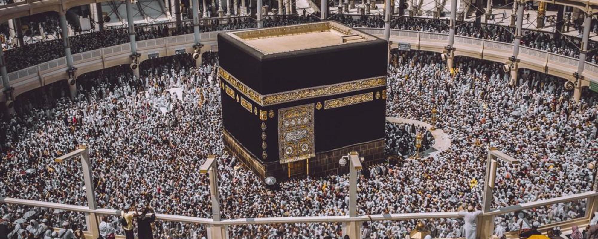 Um olhar íntimo sobre a grande peregrinação a Meca