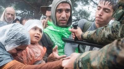 An der griechischen Grenze zu Mazedonien sind drei Flüchtlinge ertrunken