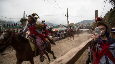 I Got Drunk and Cheated Death in a Ceremonial Horse Race