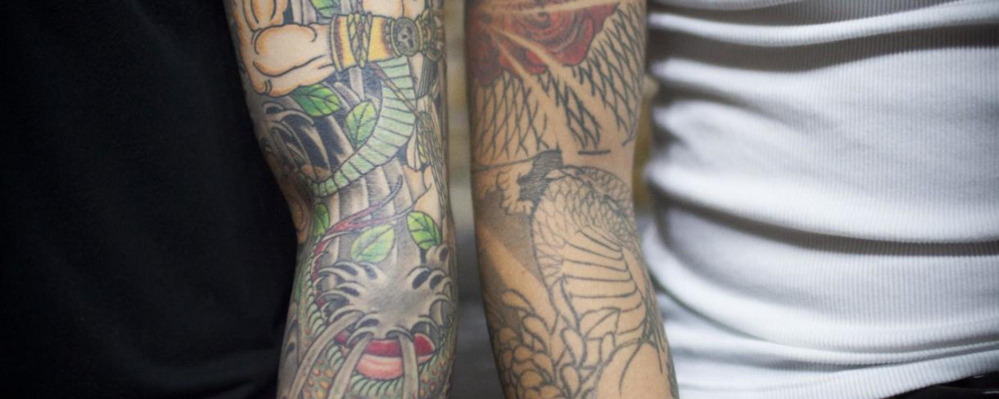 Ser tatuador na Coreia do Sul é crime e pode levar à prisão