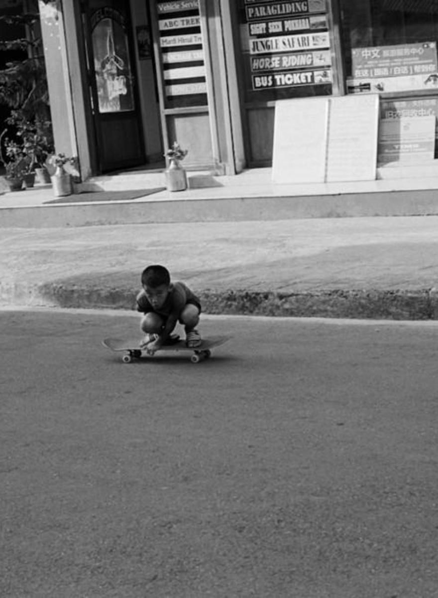 Nepals Skateboard-Szene nach den schrecklichen Erdbeben