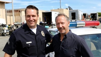 The LAPD Cops Who Play Themselves on TV