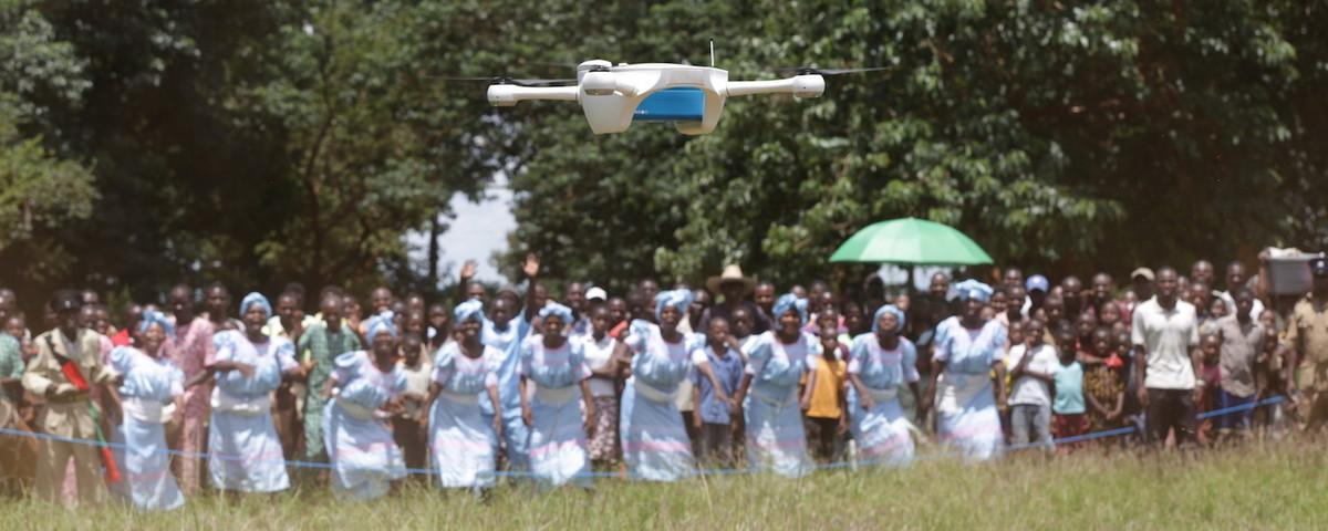 The First HIV-Fighting Drones Have Been Deployed in Africa