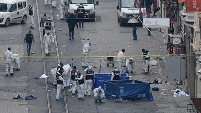 Fatal Suicide Bombing Strikes Istanbul Shopping District