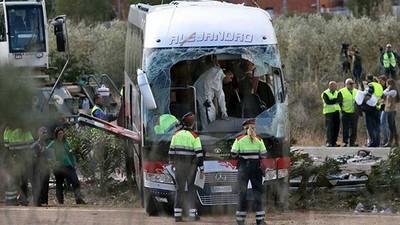 Me enviaron a cubrir el accidente de autobús de Tarragona