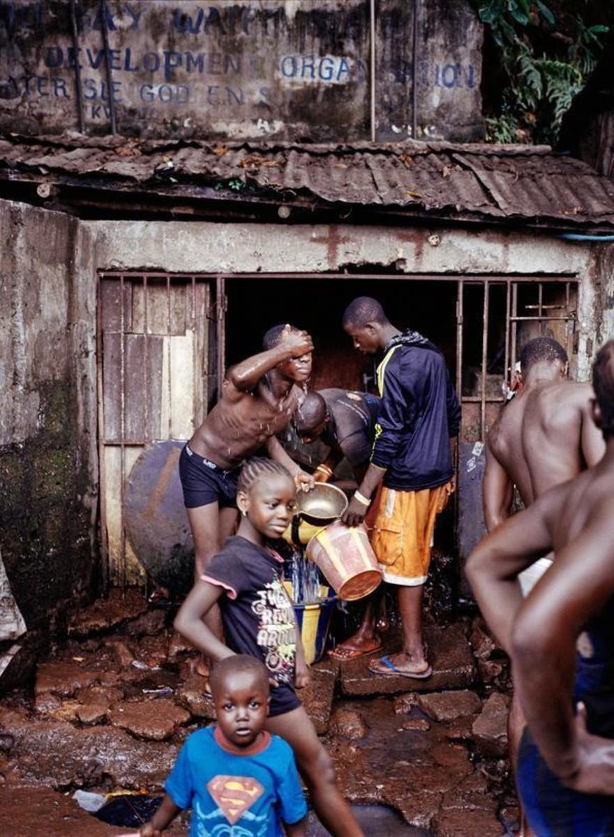 Fotografiando la crisis mundial del agua
