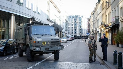 A Group of Writers in Brussels Were Discussing How to Deal with Terror While the City Was Under Attack