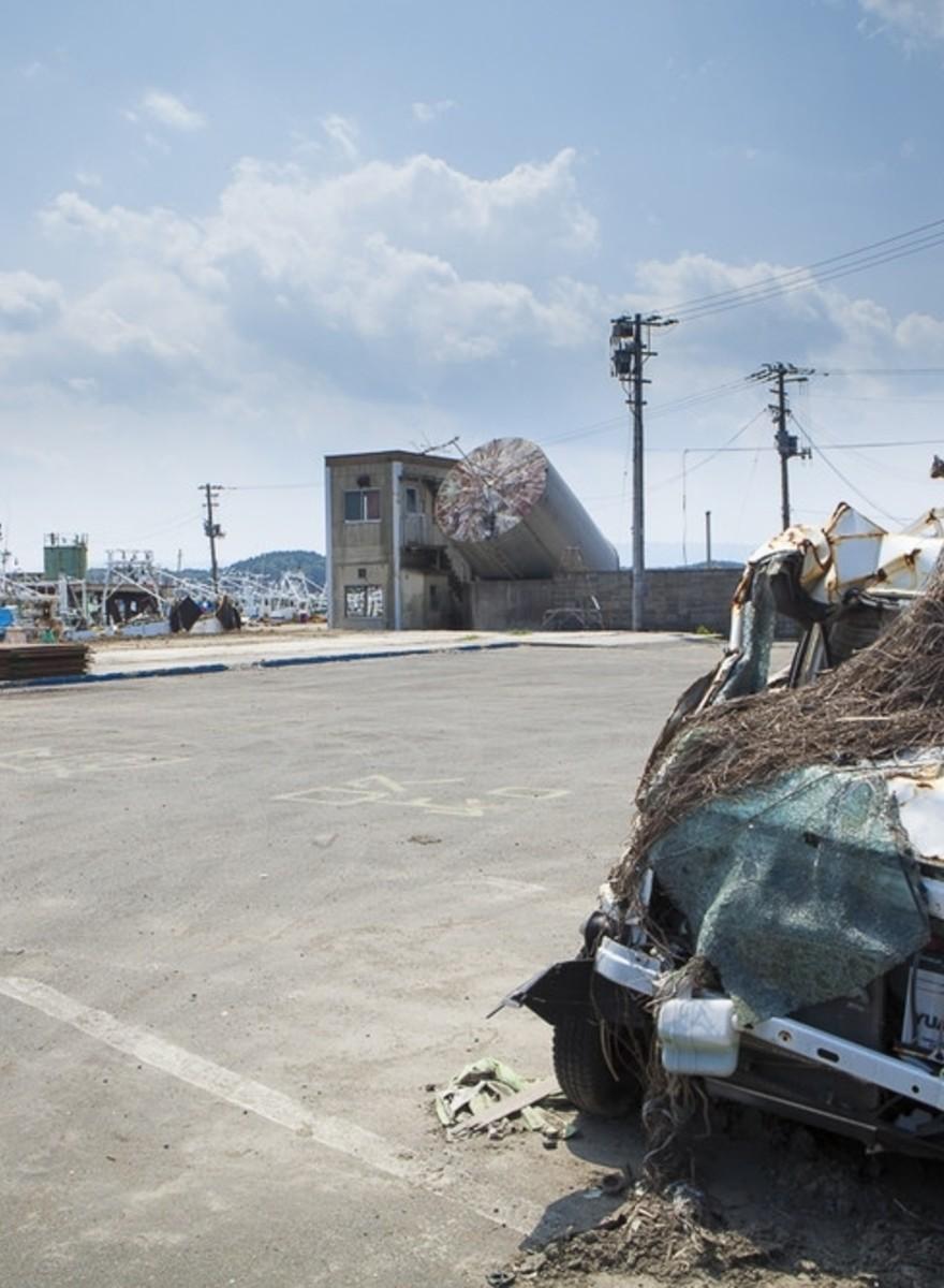 Los paisajes olvidados de Fukushima
