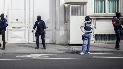 En imágenes: así se vivió la alerta máxima en Bruselas después de los atentados