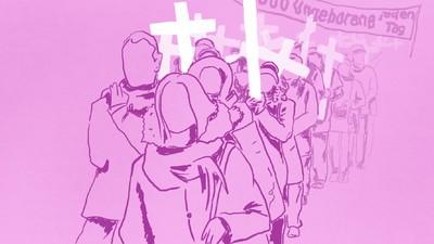 Wie gefährlich sind deutsche Abtreibungsgegner?