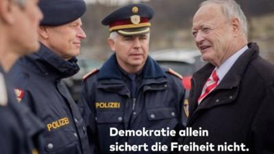 Für Andreas Khol reicht Demokratie nicht –aber was bedeutet das?