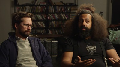We Talked to Reggie Watts and Benjamin Dickinson About Their New Film on Today's 'Daily VICE'