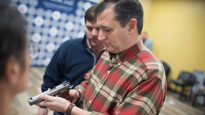 Ted Cruz Just Involved Himself in a Crazy Conspiracy Theory That's Dividing the NRA