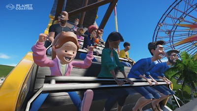 'Planet Coaster' Invites You to Build Your Dream Theme Park Like Never Before