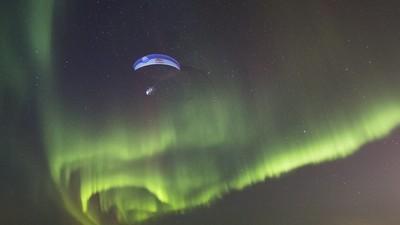 La tierra vista por el mejor paracaidista del mundo
