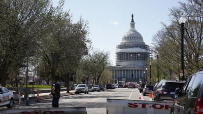 The US Capitol Went on Lockdown After a Shooting Monday