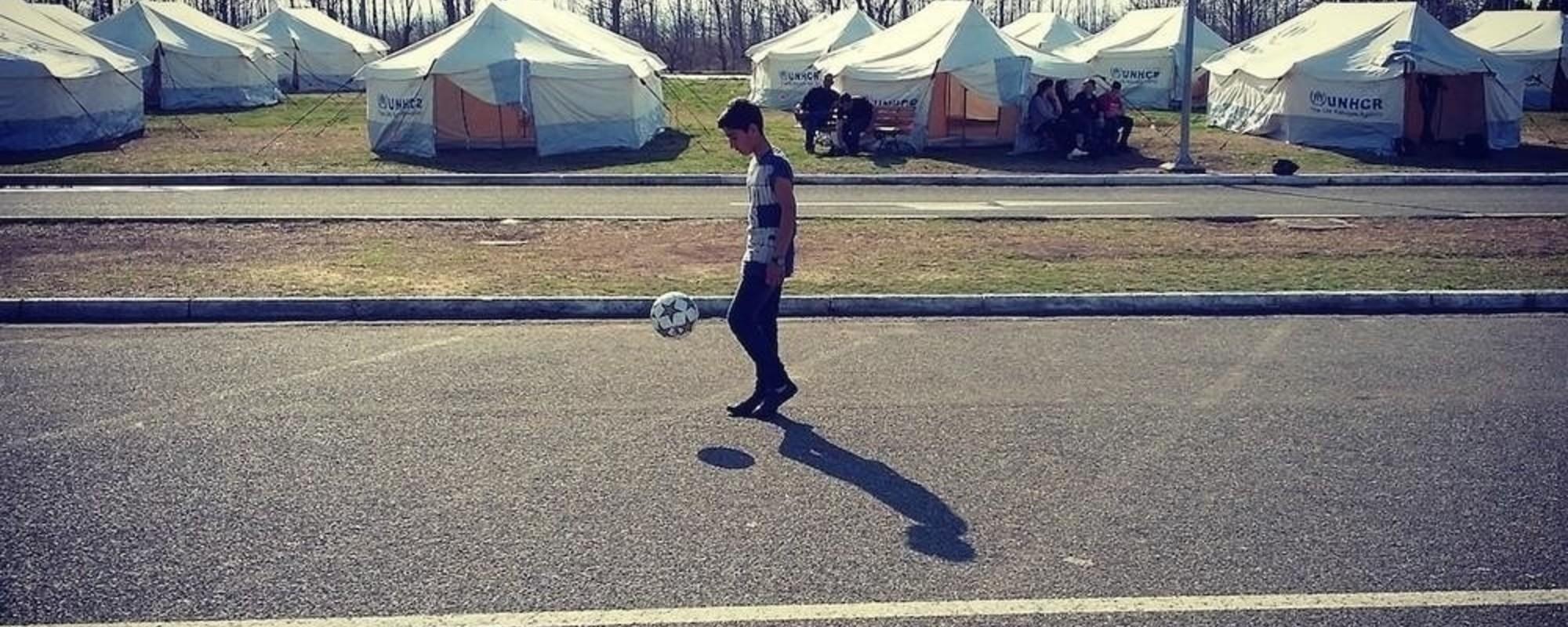 FK Idomeni: Fotbal v uprchlickém táboře