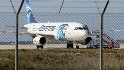 Lo que sabemos hasta ahora sobre el avión secuestrado de Egypt Air