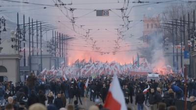 Die Warschauer Nationalisten-Demo war dieses Jahr die Siegesfeier der polnischen Rechten
